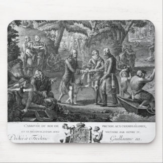 Henri IV  reconciling Frederick William II Mouse Pad