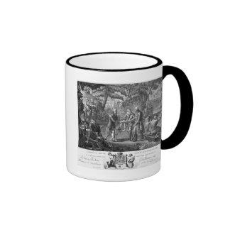Henri IV  reconciling Frederick William II Coffee Mugs