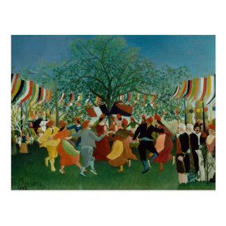 Henri Rousseau - A Centennial of Independence Postcard