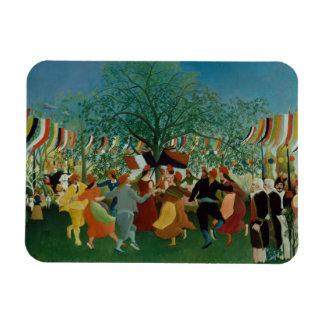 Henri Rousseau - A Centennial of Independence Rectangular Photo Magnet