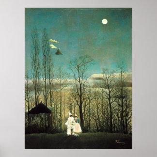 Henri Rousseau Carnival Evening Poster