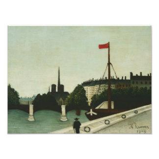 Henri Rousseau - Notre Dame Photographic Print