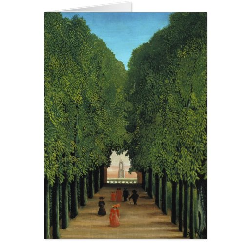 Henri Rousseau Painting Greeting Cards