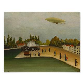 Henri Rousseau - Quai d'Ivry Photo Print