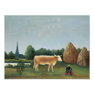 Henri Rousseau - Scene in Bagneux on the Outskirts Photo Art