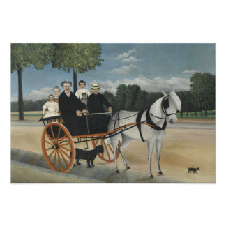 Henri Rousseau - The Carriage of Fr. Junier Photo Art