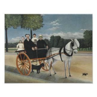 Henri Rousseau - The Carriage of Fr. Junier Photograph
