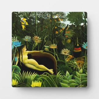 Henri Rousseau The Dream Plaque