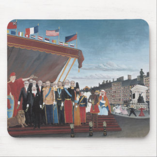 Henri Rousseau - The Representatives of Foreign Mouse Pad