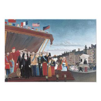 Henri Rousseau - The Representatives of Foreign Photo Print