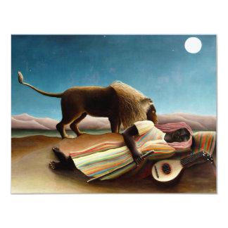 Henri Rousseau The Sleeping Gypsy Invitations