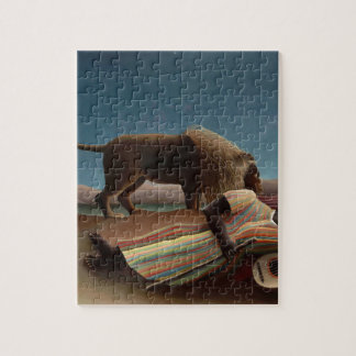 Henri Rousseau The Sleeping Gypsy Jigsaw Puzzle