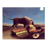Henri Rousseau - The Sleeping Gypsy Post Cards