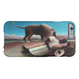 Henri Rousseau The Sleeping Gypsy Vintage Barely There iPhone 6 Case