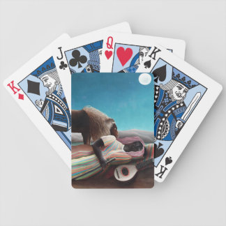 Henri Rousseau The Sleeping Gypsy Vintage Bicycle Playing Cards