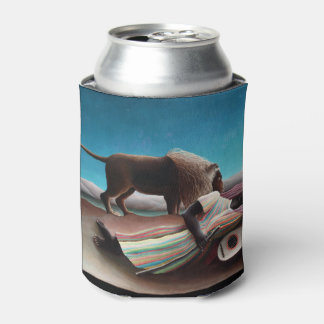 Henri Rousseau The Sleeping Gypsy Vintage Can Cooler