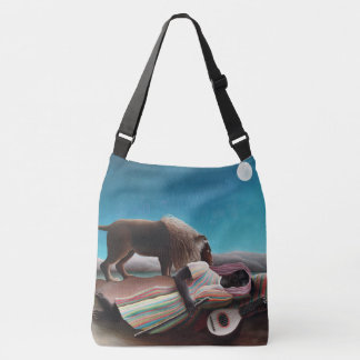 Henri Rousseau The Sleeping Gypsy Vintage Crossbody Bag