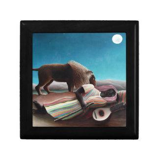 Henri Rousseau The Sleeping Gypsy Vintage Gift Box