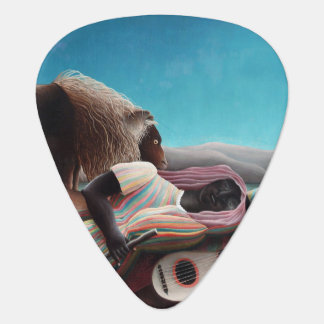 Henri Rousseau The Sleeping Gypsy Vintage Guitar Pick