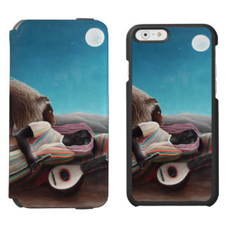 Henri Rousseau The Sleeping Gypsy Vintage Incipio Watson™ iPhone 6 Wallet Case