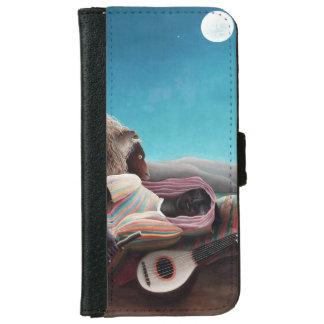 Henri Rousseau The Sleeping Gypsy Vintage iPhone 6 Wallet Case