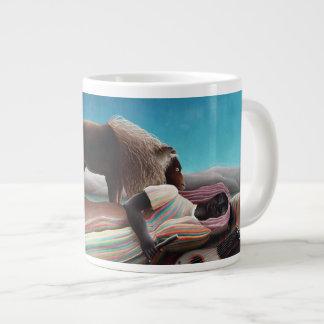 Henri Rousseau The Sleeping Gypsy Vintage Large Coffee Mug