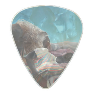 Henri Rousseau The Sleeping Gypsy Vintage Pearl Celluloid Guitar Pick