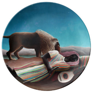 Henri Rousseau The Sleeping Gypsy Vintage Plate
