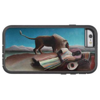 Henri Rousseau The Sleeping Gypsy Vintage Tough Xtreme iPhone 6 Case