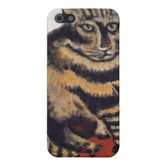 Henri Rousseau - The Tiger Cat ( Le Chat Tigre ) iPhone 5/5S Cover