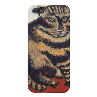Henri Rousseau - The Tiger Cat ( Le Chat Tigre ) iPhone 5 Covers