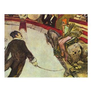 Henri Toulouse-Lautrec - The Circus Postcard