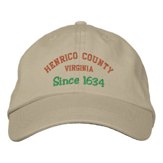 HENRICO COUNTY, VA EMBROIDERED HAT