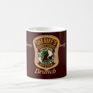 HENRICO PATCH, Deputy                        Sh... Basic White Mug