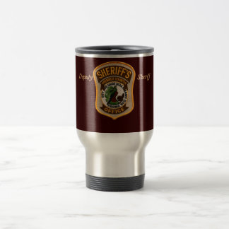 HENRICO PATCH, Deputy                        Sh... Stainless Steel Travel Mug