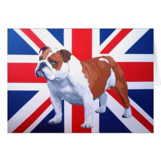 Henry British Bulldog Card