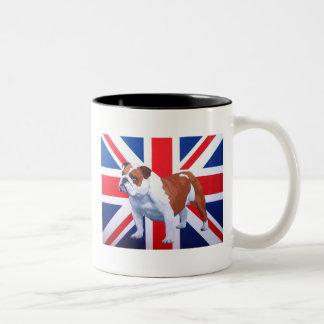 Henry British Bulldog Two-Tone Mug
