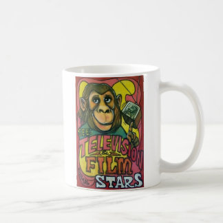 Henry Bros Circus Poster Mug - Chimpanzee