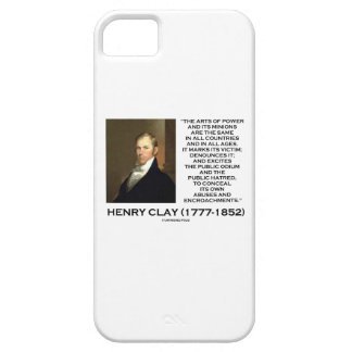 Henry Clay Arts Of Power Its Minions Same Quote iPhone 5 Cases