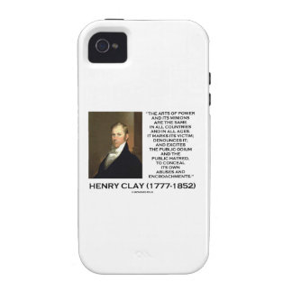 Henry Clay Arts Of Power Its Minions Same Quote Vibe iPhone 4 Covers