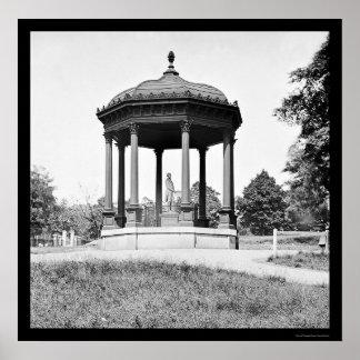 Henry Clay Memorial in Richmond, VA 1865 Poster