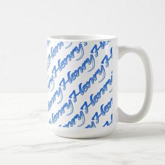 Henry customized white mug