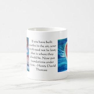 Henry David Thoreau Friendship Quote Coffee Mug