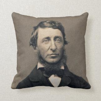 Henry David Thoreau Portrait Maxham daguerreotype Cushion