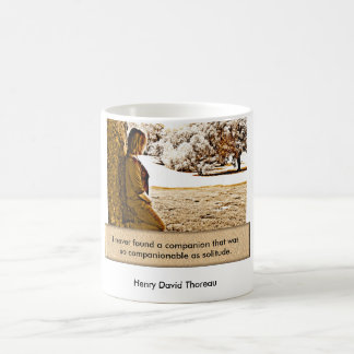 Henry David Thoreau - quote Coffee Mug