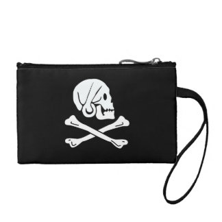 Henry Every Pirate Flag Coin Purses