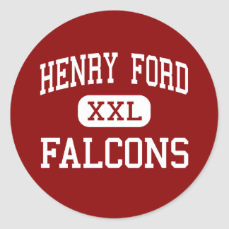 Henry Ford - Falcons - Middle - Avondale Louisiana Round Stickers