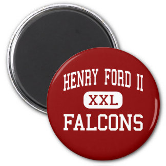Henry Ford II - Falcons - High - Sterling Heights Refrigerator Magnets
