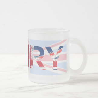 Henry Frosted Glass Coffee Mug