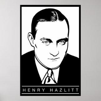 Henry Hazlitt Poster